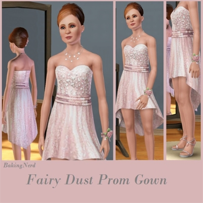 Fairy Dust Prom Dress By Bakingnerd The Exchange Community The