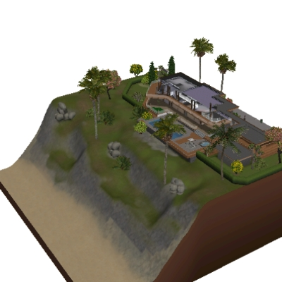 The Sims 3 Franklin S House Gta V By Pieter1999 The Exchange