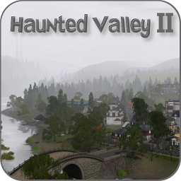 Haunted Valley II By Rflong The Exchange Community The Sims - Blank world map sims 3