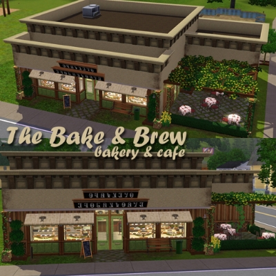The Bake 'n Brew Bakery and Cafe (CC free) by AlmightyBlah