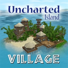 Uncharted island village by drslimi the exchange for Stone island bedding