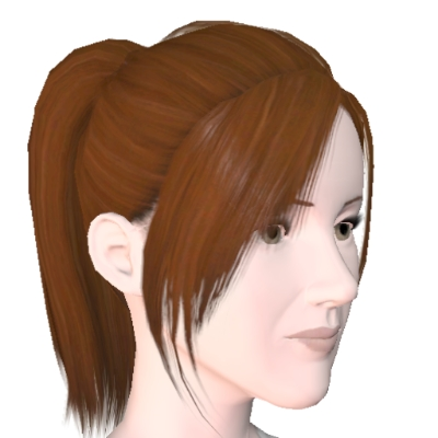 Brunette Ponytail by Crystalmc145 - The Exchange - Community