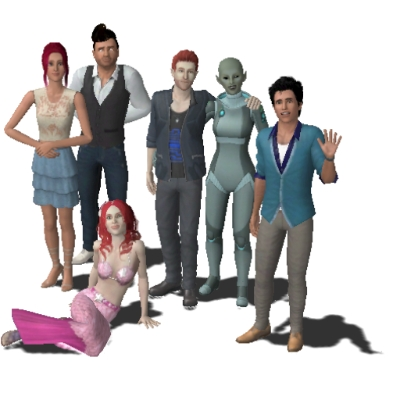 how to add a household in the sims 3