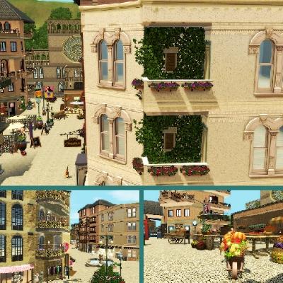 Croon meg hjem, mikrofonstativ Store The Sims™ 3